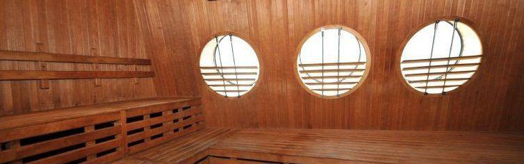 Sauna du bateau de croisière MS Kong-Harald