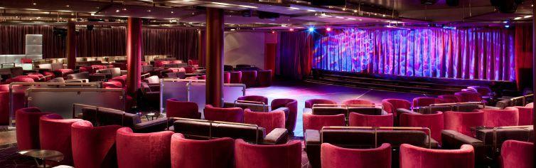 Théâtre du bateau de croisière Seabourn Odyssey