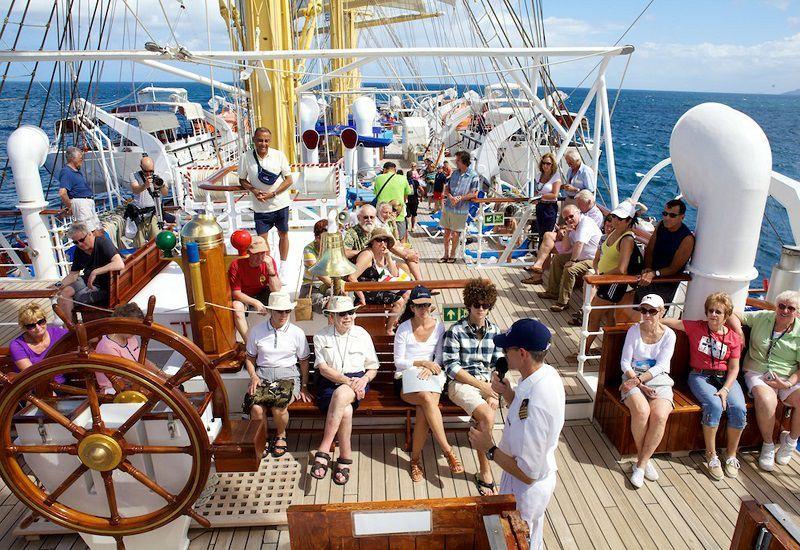 Divertissement à bord du bateau de croisière Star Clipper