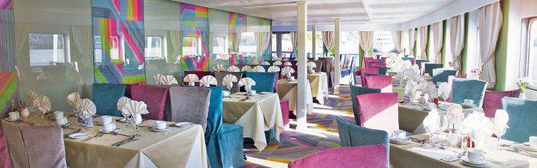 Restaurant du bateau de croisière Amadeus MS Kandinsky Prestige