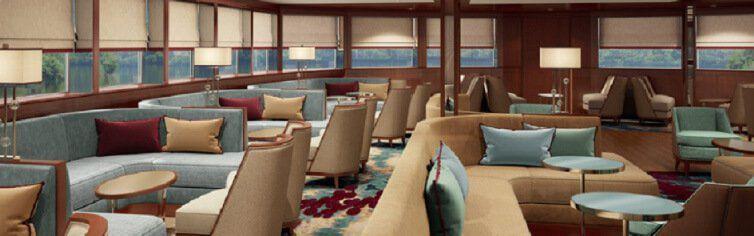 Bar du bateau de croisière MS Douro Queen