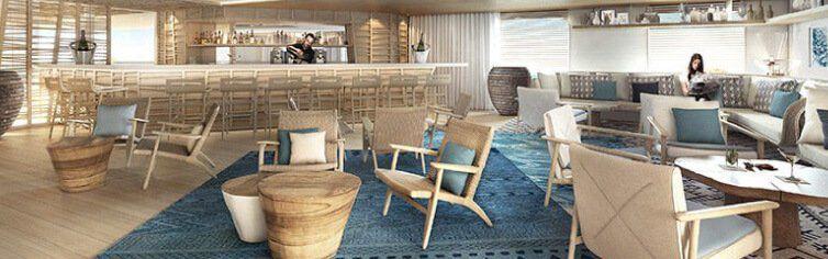Photo du Bar du bateau de croisière Le Dumont D'Urville