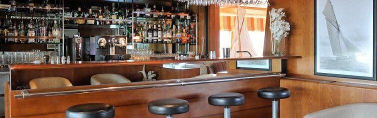 Bar du voilier de croisière Le Ponant