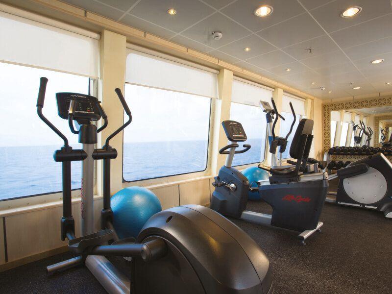 Salle de Fitness du bateau de croisière Silver Galapagos