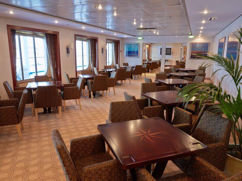 Card Room du bateau de croisière Seven Seas Mariner