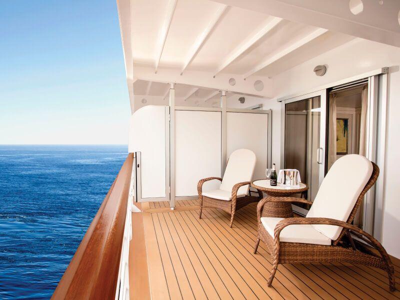 Suite Balcon Conciergerie du bateau de croisière Seven Seas Explorer