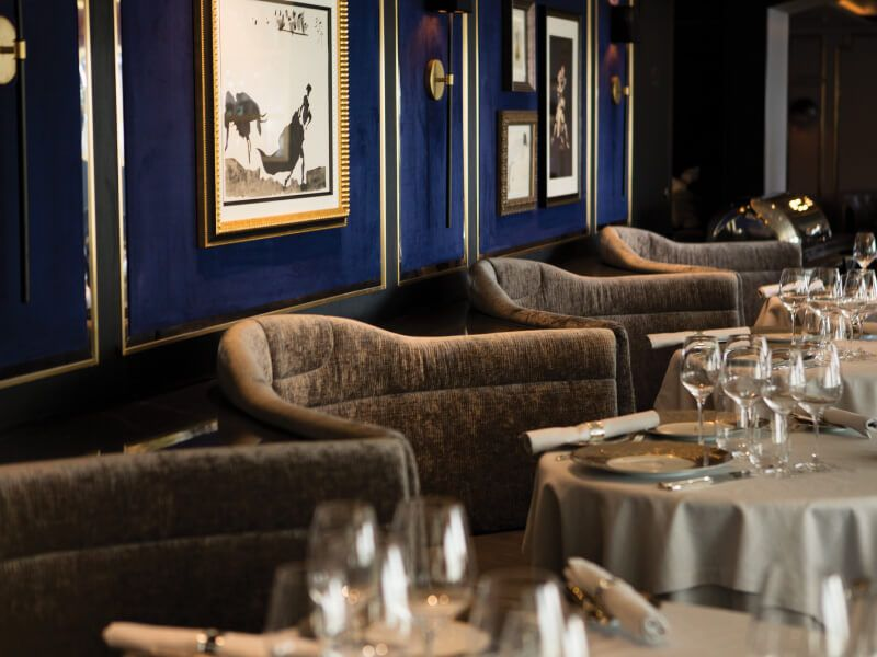 Restaurant  Prime 7 du bateau de croisière Seven Seas Explorer
