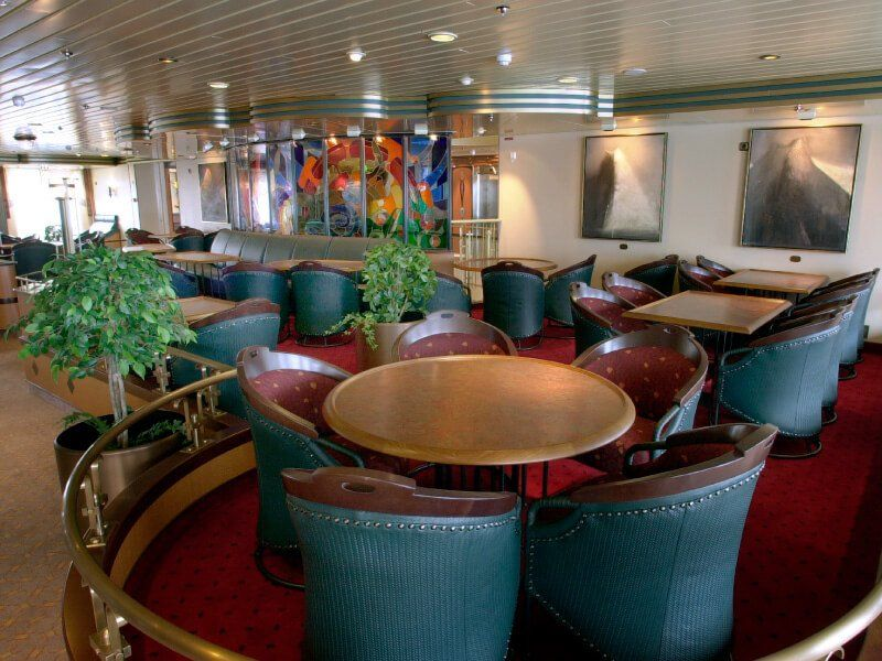 LOUNGE du bateau de croisière MS Finnmarken
