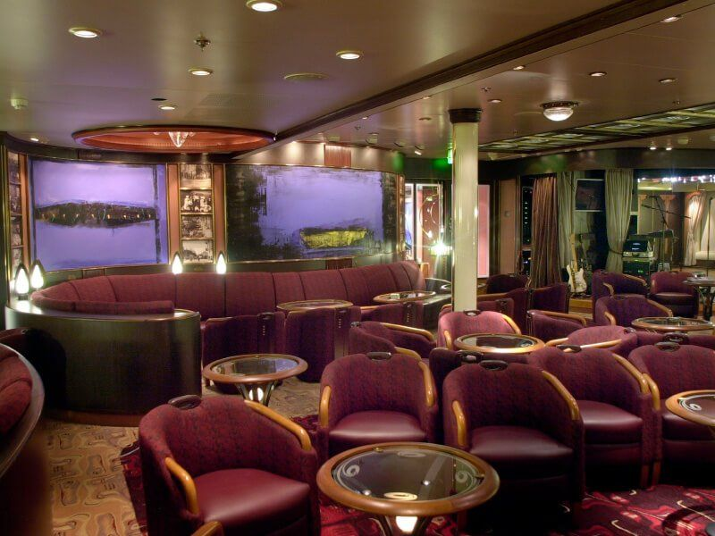 Salon à bord du bateau de croisière MS Finnmarken