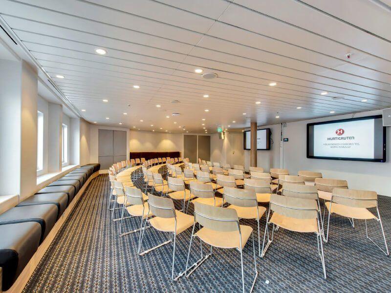 Conférence du bateau de croisière MS Kong-Harald