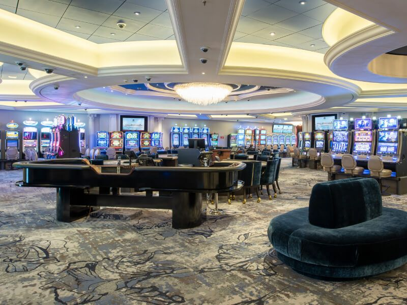 Casino du bateau de croisière Crystal Serenity