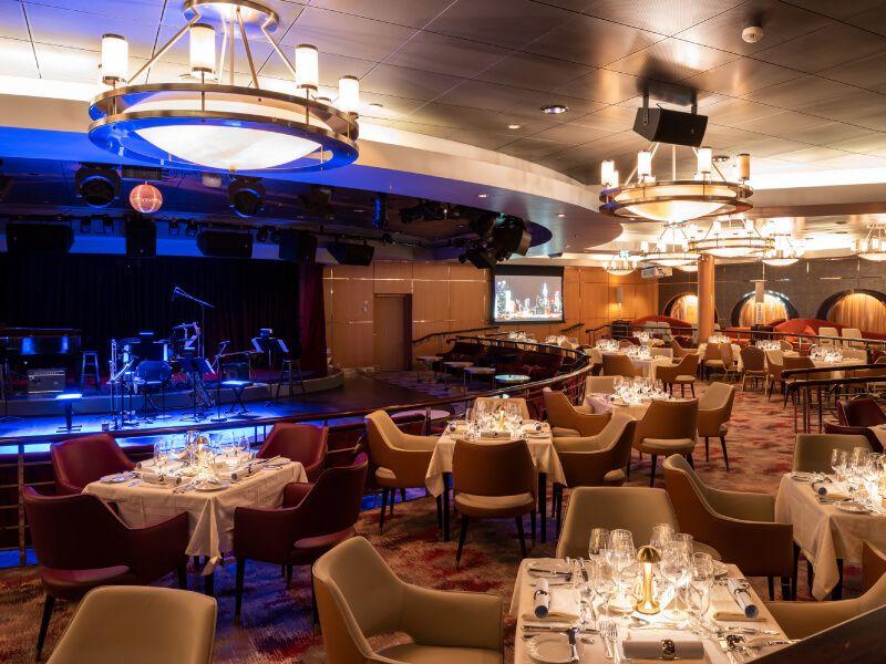 Supper Club du bateau de croisière Crystal Serenity