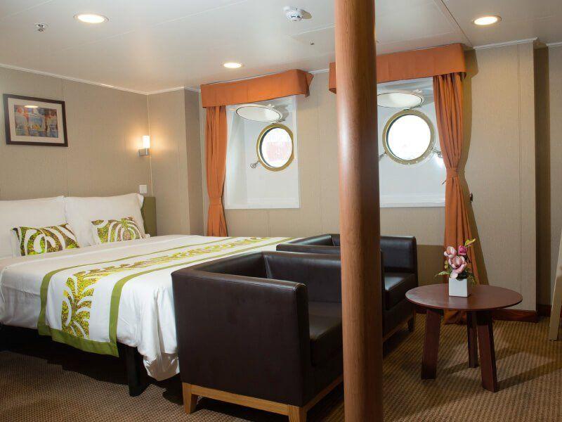 Cabine Standard 4 PAX du bateau de croisière Aranui 5