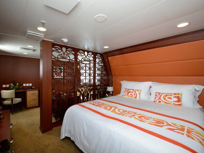 ROYAL SUITE du bateau de croisière Aranui 5