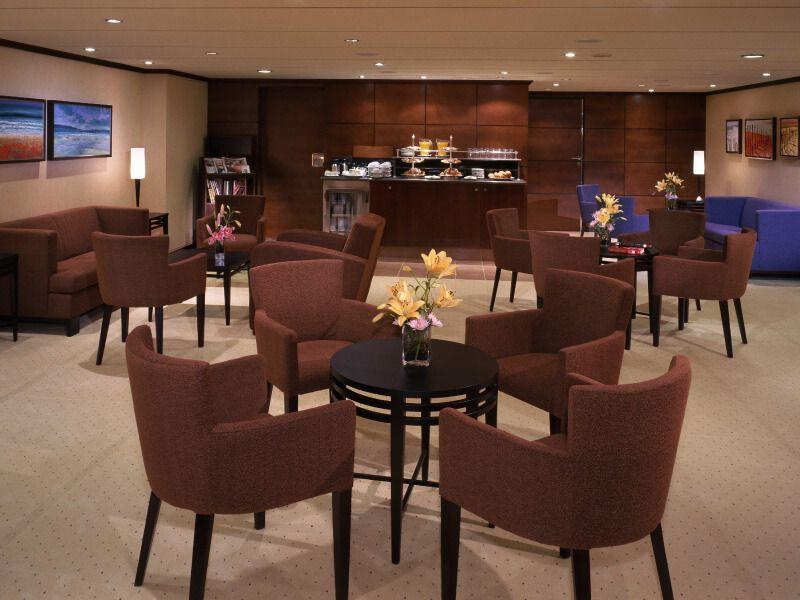 Lounge du bateau de croisière Queen Mary 2