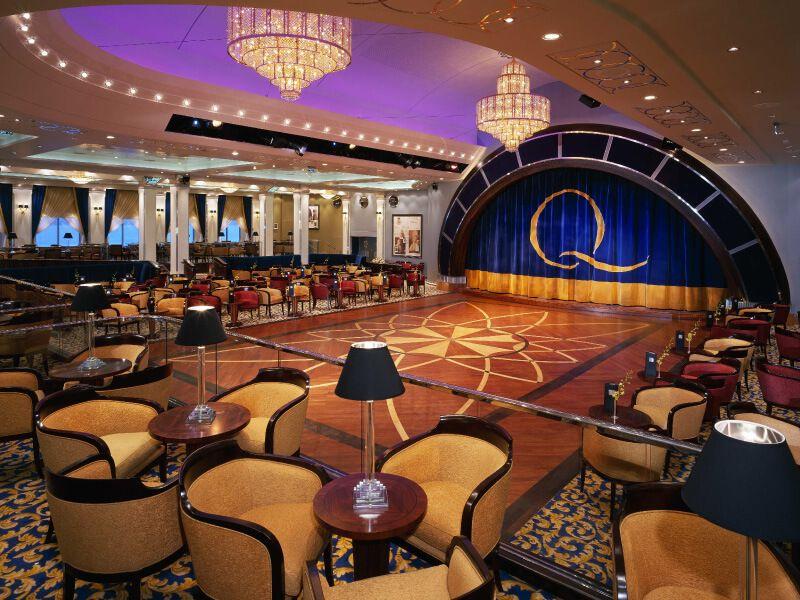 Queens Room du bateau de croisière Queen Mary 2