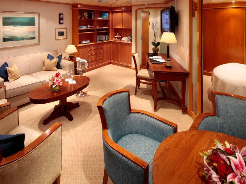 SuiteAramateur du bateau de croisière SeaDream II