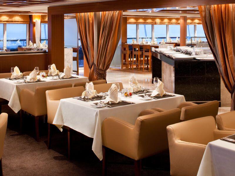 The COLONNADE du bateau de croisière Seabourn Odyssey
