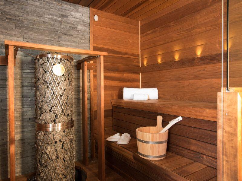 Sauna du bateau de croisière Crystal Esprit