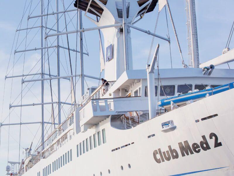 Aperçu du bateau de croisière Club Med 2