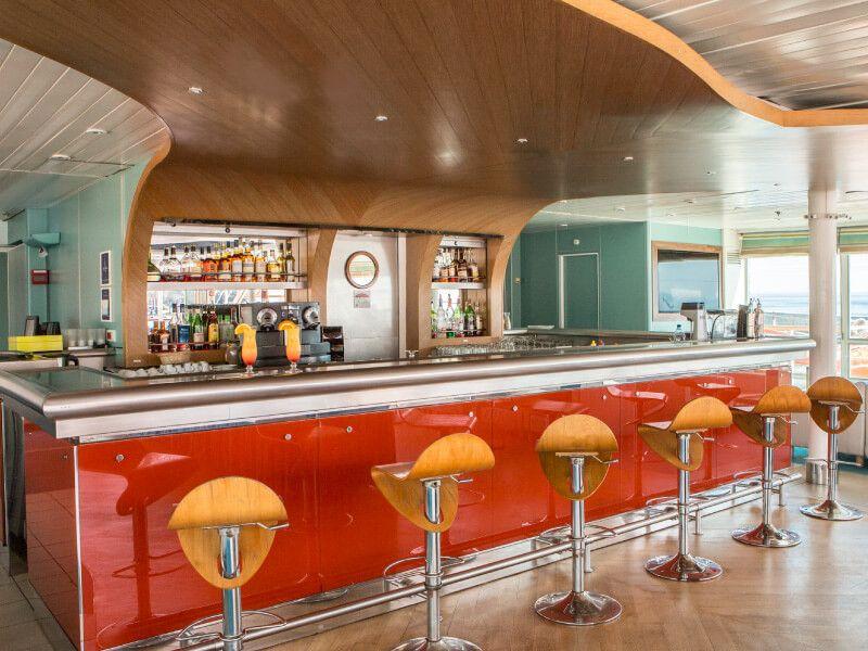 Bar Le MOBY DICK du bateau de croisière Club Med 2