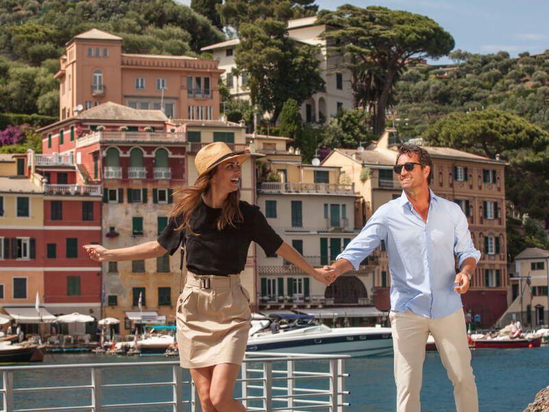 Passagers à bord du bateau de croisière Club Med 2
