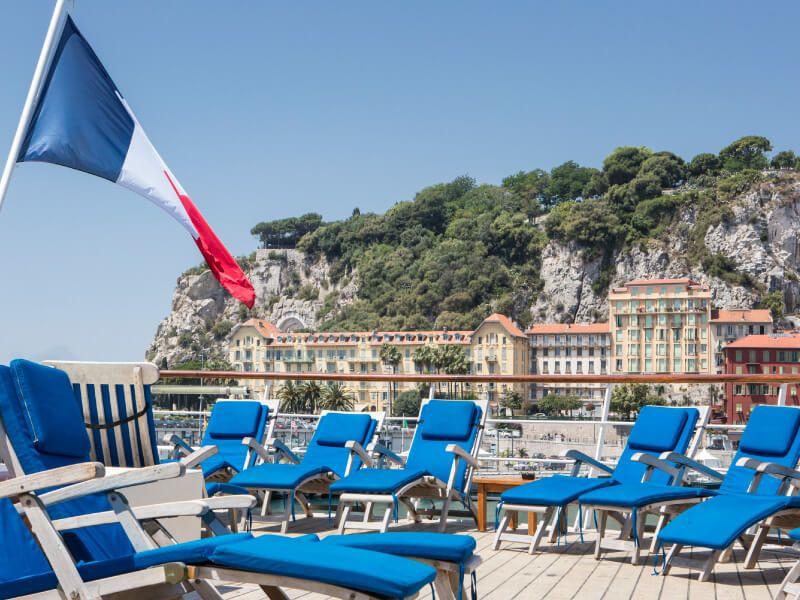 Transats à bord du bateau de croisière Club Med 2