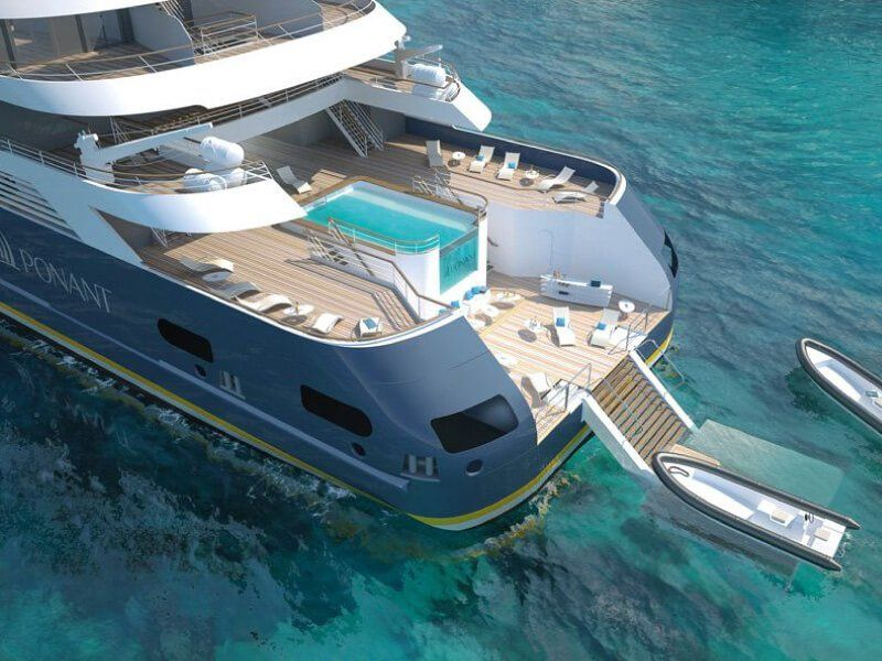 Marina : croisière Le Bougainville