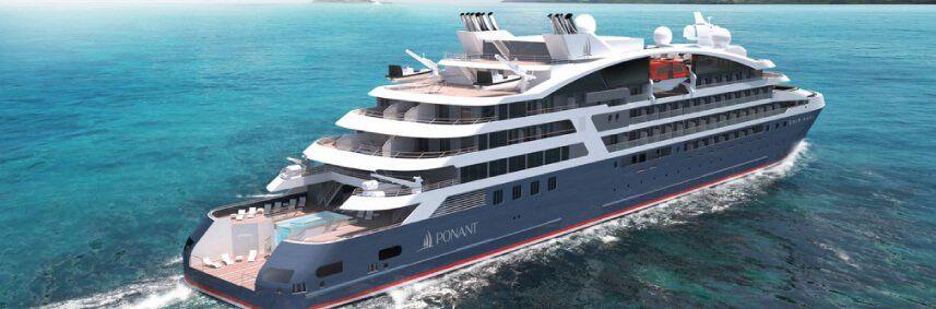 Photo du bateau Le Jacques Cartier de la compagnie de croisière Ponant