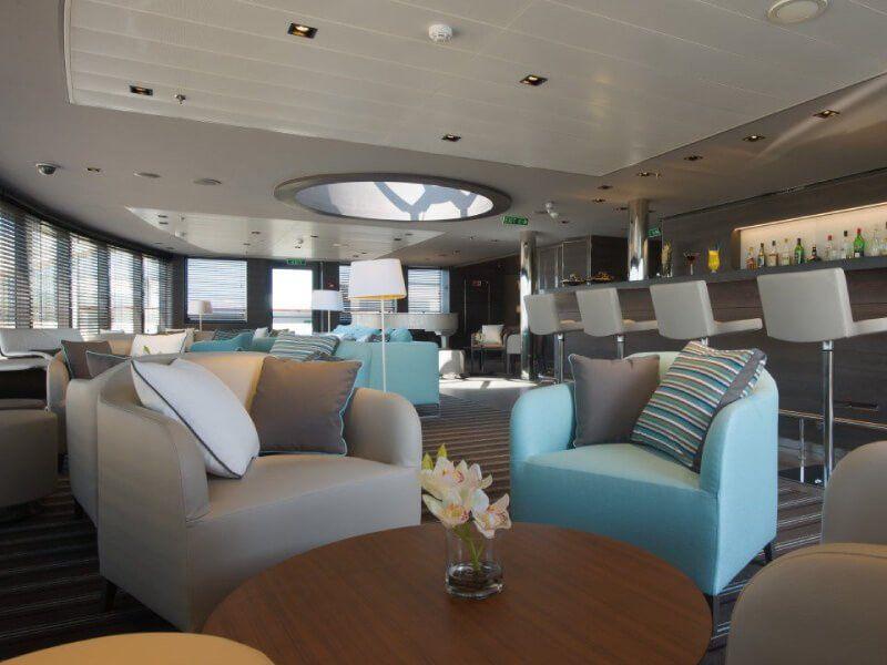 Bar Lounge du bateau de croisière Le Soléal