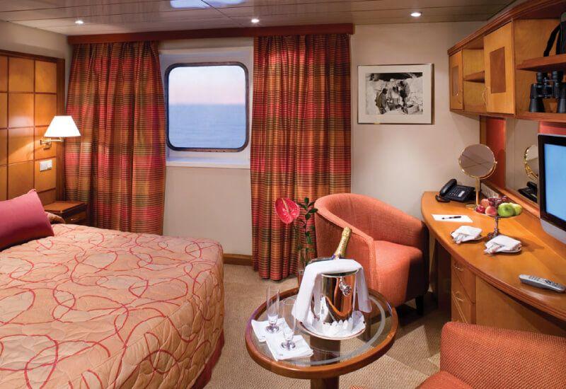 Suite Vista du bateau de croisière Silver Explorer