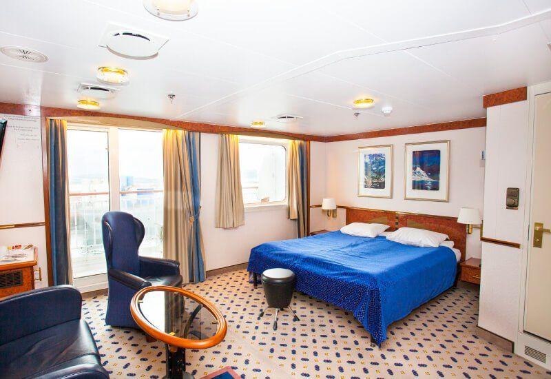 Suite du bateau de croisière MS Finnmarken