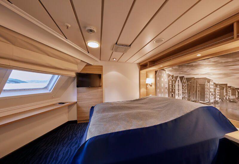 Suite du bateau de croisière MS Kong-Harald