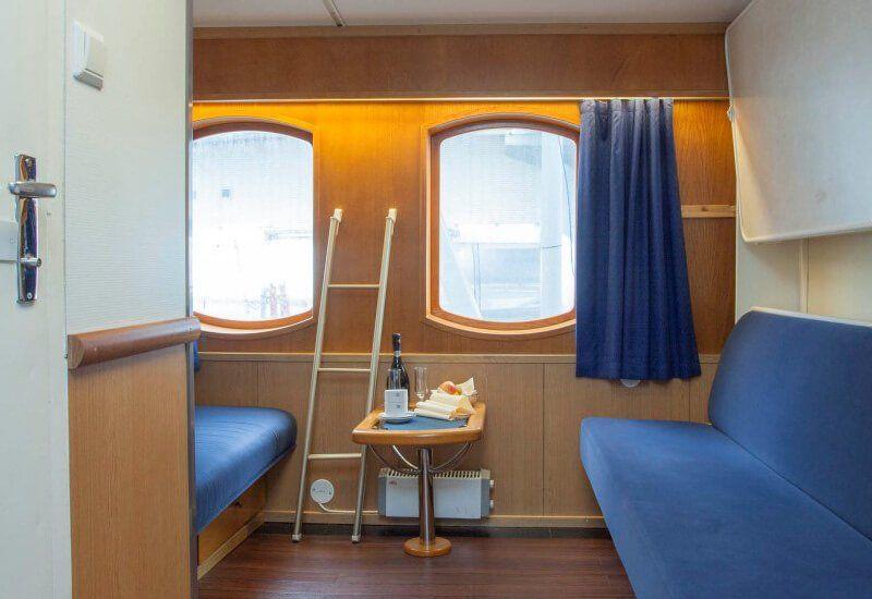 Cabine Extérieure du bateau de croisière MS Kong Lofoten