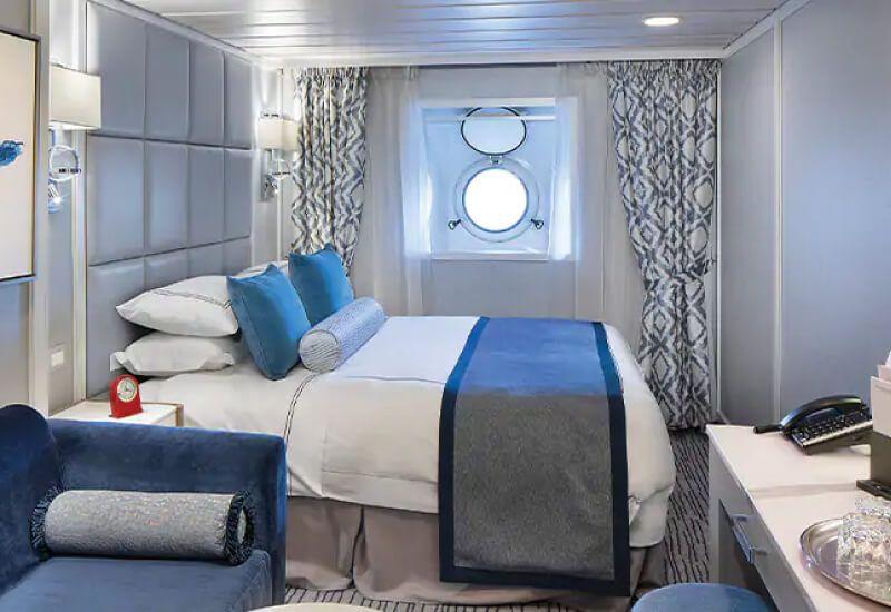 Cabine Extérieure du bateau de croisière Sirena