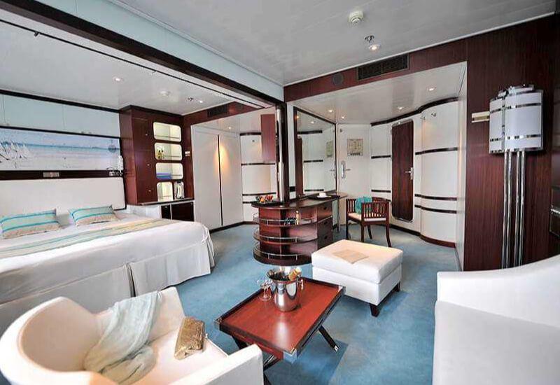 Suite Aramateur du bateau de croisière Club Med 2