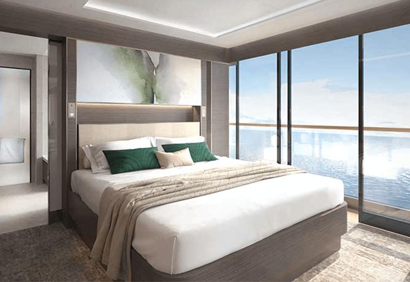 Cabine Suite du Ritz Carlton Yacht
