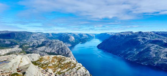 croisière de luxe dans les fjords norvégiens