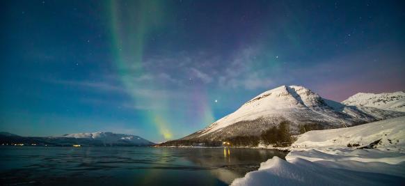 croisière aurores boréales au Spitzberg