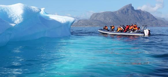 croisière Groenland haut de gamme