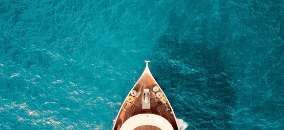 l'océan indien lors d'une croisière de luxe
