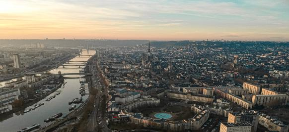 la Seine lors d'une croisière de luxe