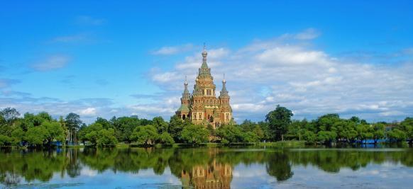 croisière de luxe en Russie