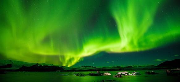 croisière de luxe aurores boréales en Islande